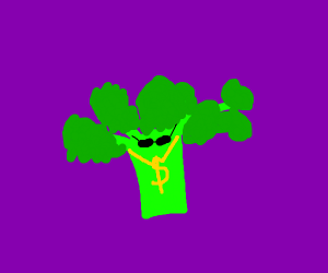 Rich gangster broccoli