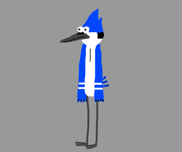 Mordecai from Regular Show
