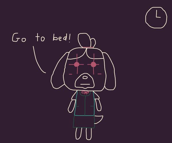 Animal Crossing at three AM