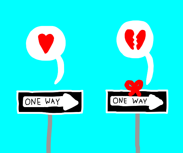 A one-way relationship
