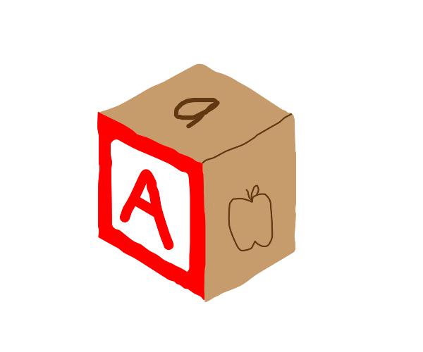 "Letter Block ""A"""