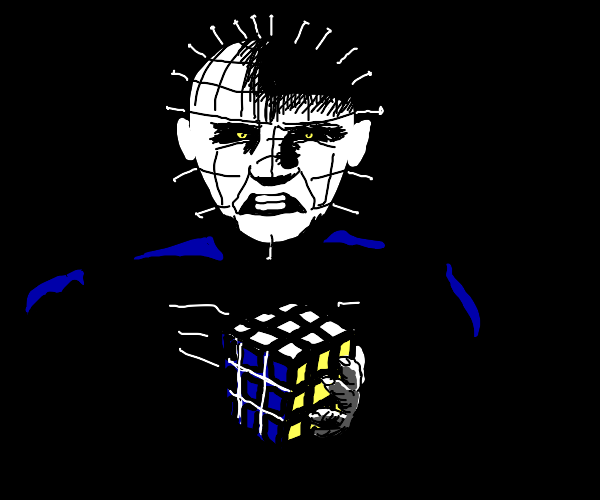 Satanic Rubix Cube Ritual