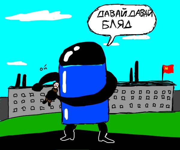 In soviet russia, deodorant uses tou