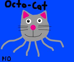 Octo-Cat PIO (octopus cat)