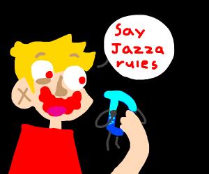 Jazza starts a Jazpocolapse on Drawception