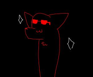 A cool fox