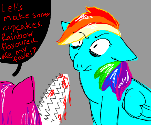 that one MLP cupcake fan fiction