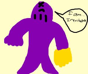 Thanos is inevitable
