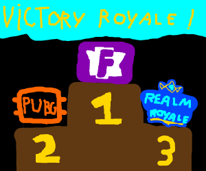 number 1 in victory royal genre video game