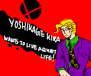 Yoshikage Kira joins smash