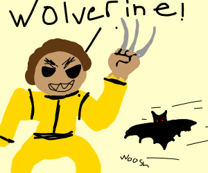 Wolverine defeat from BatBoomerang