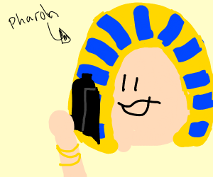 Pharaoh with a gun