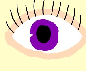 eye purpul u