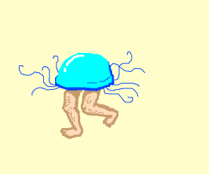 Jellyfish with legs