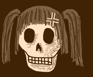 Tsundere skull