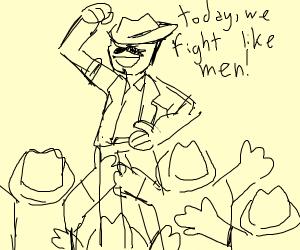 cowboy leader