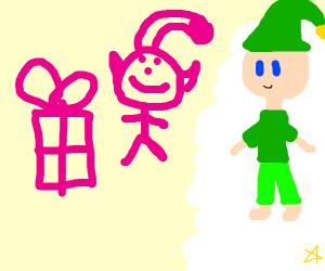 Polite elf