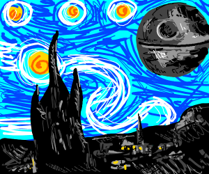Death Starry Night