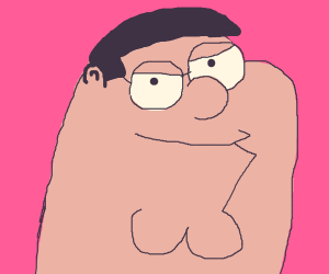 cursed peter griffin