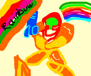 Samus becoming gay