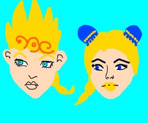 blonde jojo characters