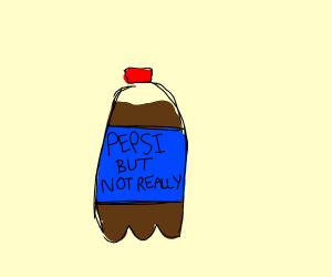 Off brand Pepsi