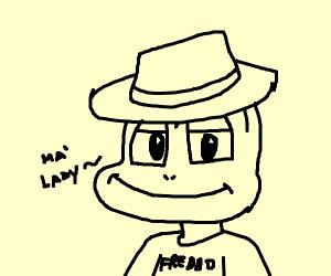 Freddo Frog with a Fedora