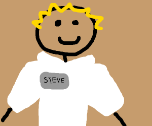 Steve with no nose