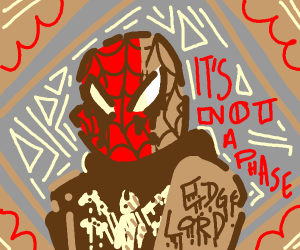 Spiderman but edgy