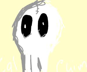 Skeleton reminds us we need calcium