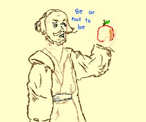 Jedi holding fruit