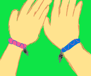 Besties with bracelets