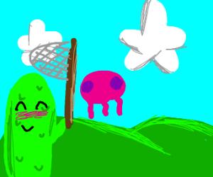 pickle guy goes jellyfishing