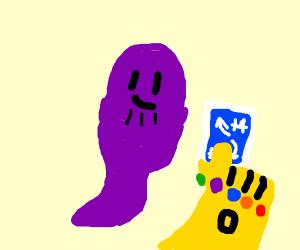 thanos ghost draws reverse +4