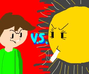 Boy VS Sun, smoke-off