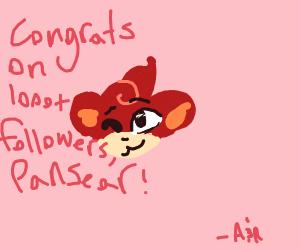 Pansear has 1000+ followers!
