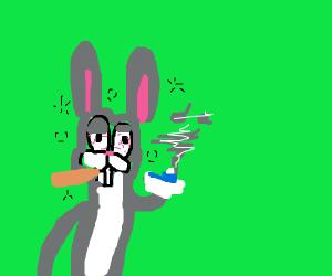 Bugs bunny on crack