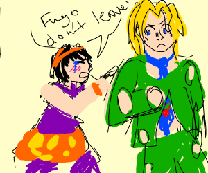 guy dont want fugo to go