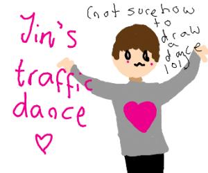 jin's traffic dance
