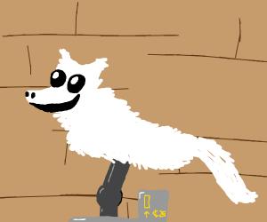 Animatronic artic fox