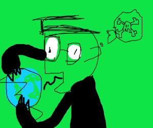 The Villain from Invader Zim? Destroying Eart