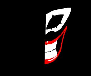 getting the joker smile
