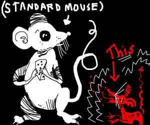 creepy mini mouse