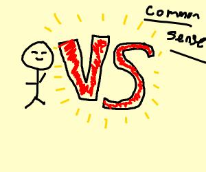 happy stickman vs common sense