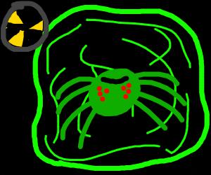 radeoative spider
