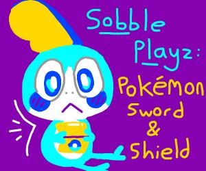 Sobble plays pokemon