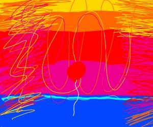 An helium-3 balloon