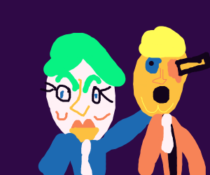 Hillary is the Joker