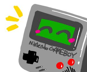 happy gameboy