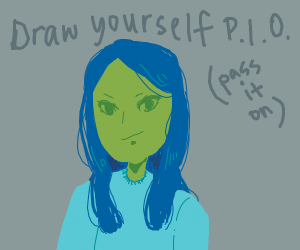Draw yourself p.i.o.